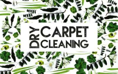 What is dry carpet cleaning?