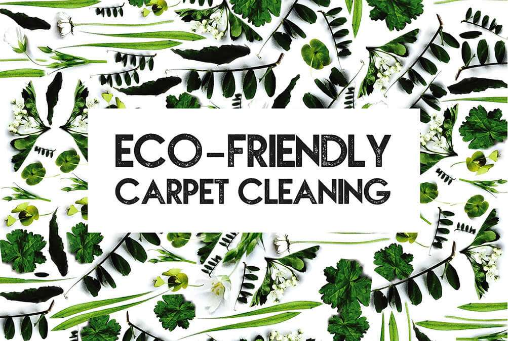 Eco-friendly carpet cleaning in Norfolk