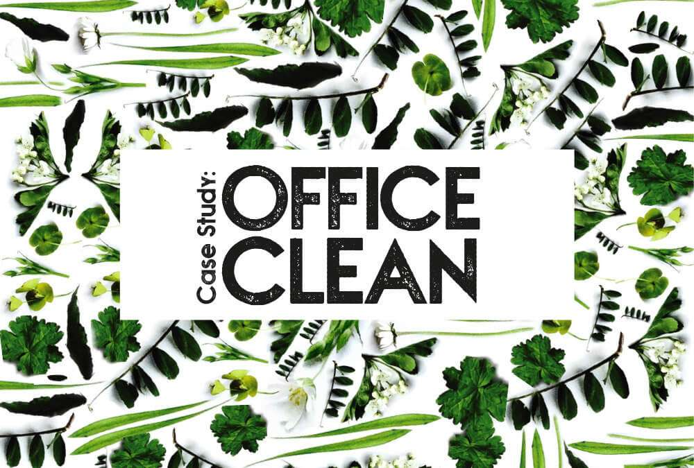Case Study: End of year clean for an Estate Agent's office